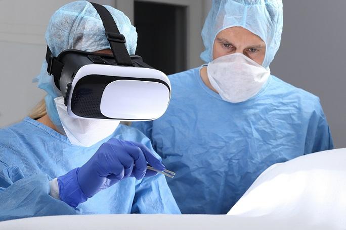 VR macht Chirurgie greifbar.